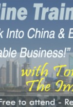 China Import-Export Guru to Hold Free Online Seminar on Building Profitable Business